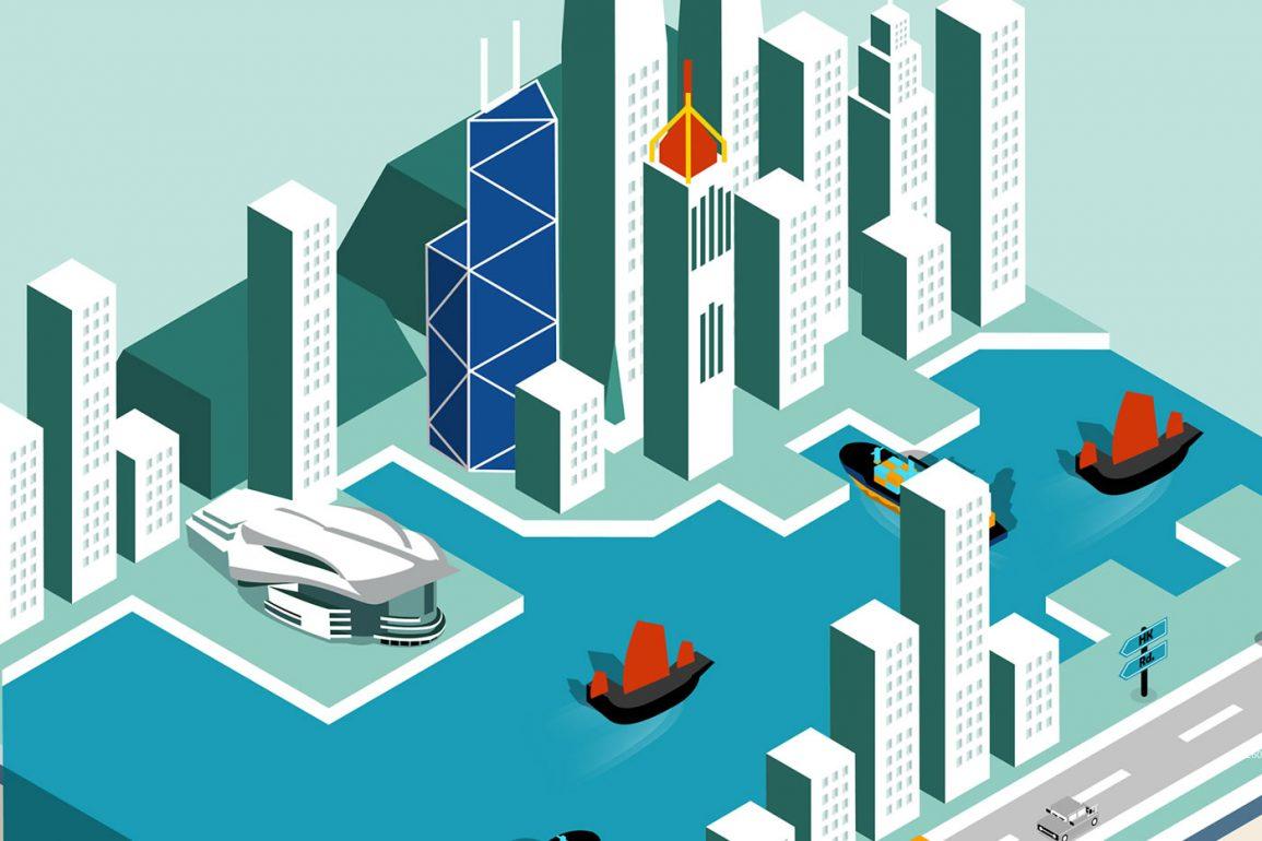 Hong Kong - Graphic design