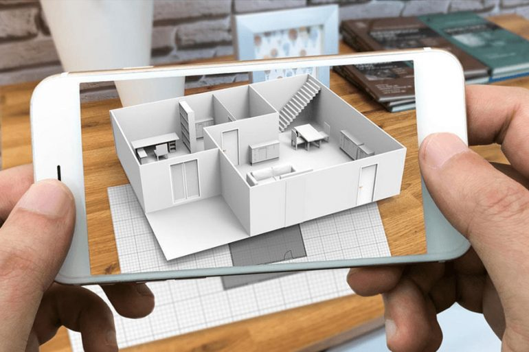 Startup Creates 3d Augmented Reality Models Based Off Of 2d Floorplans Propmodo