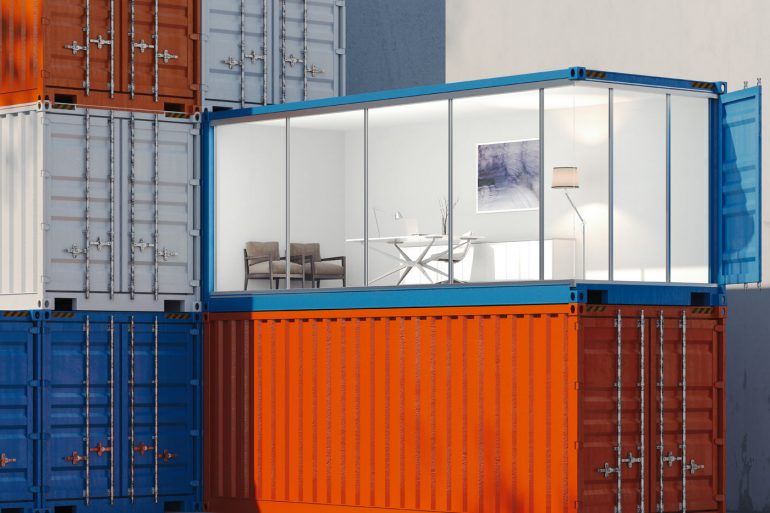 Intermodal container - Shipping container