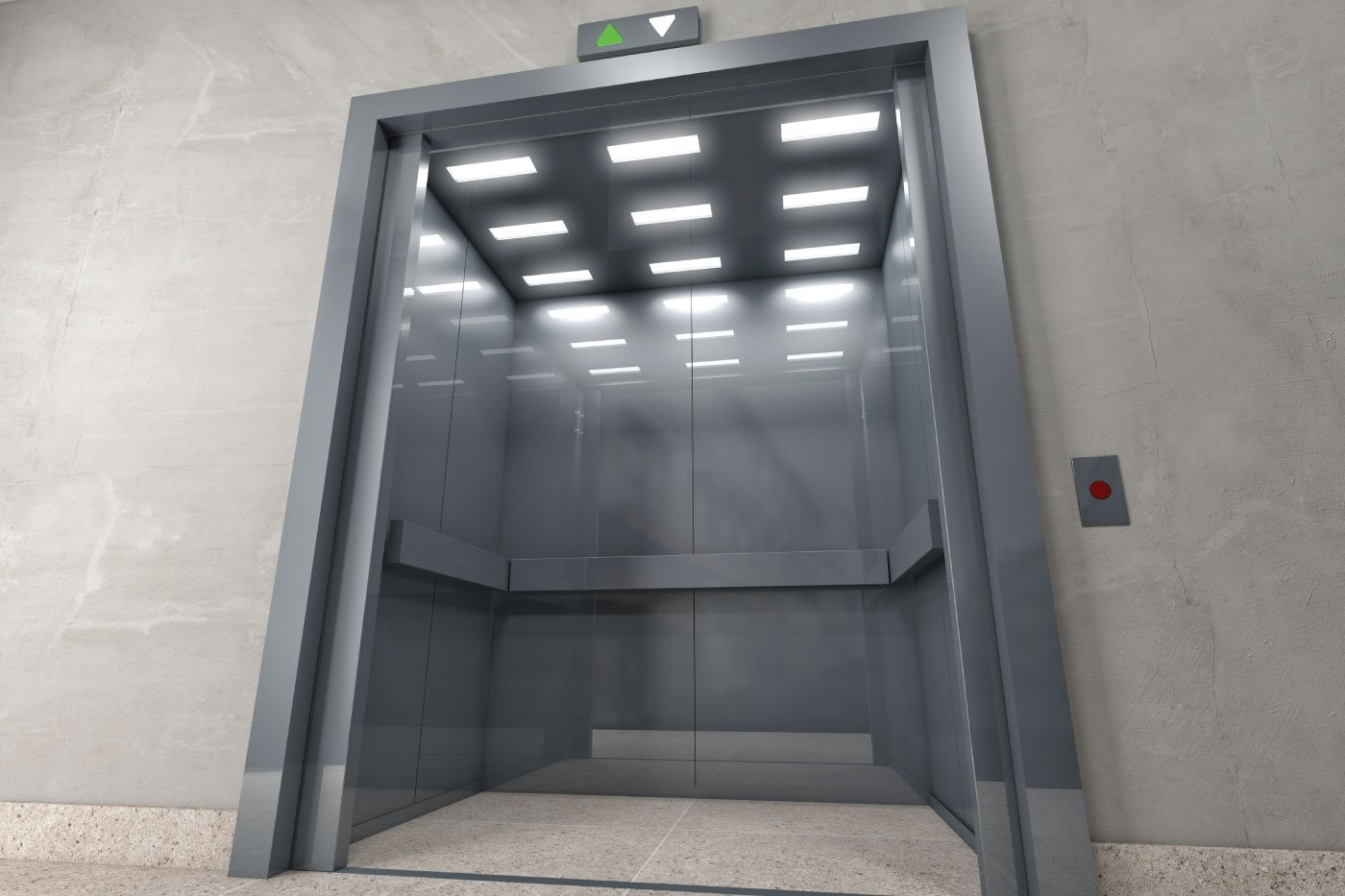 Elevator - Stock photography